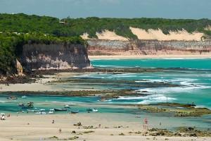 Tibau do Sul Pipa beach Rio Grande do Norte Brazil