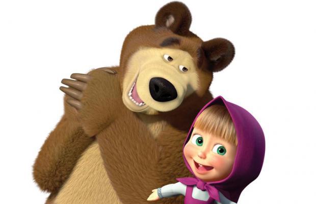 Divirta-se com a Masha e o Urso
